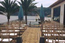 EVENTOS CON GRUPO EL ALTO / catering en la playa www.calaclemence.com