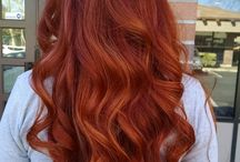Balayage Hair Color Red