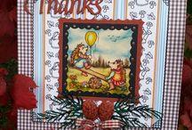 Hedgehog DAISY cards by Bianca Gallery