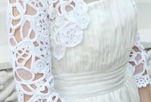 bolero blanc crochet