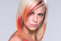 Colour Collection / Balmain Hair Extension Photo Shoots with Colour using Extensions
