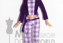 Fashion Dolls / Skirts, Blouses and Suits / Skirts, Blouses and Suits for Barbie from My Fashion Dolls World