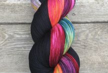 hand dyed yarn inspirations