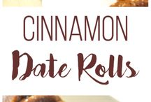 cinnamon date roll.