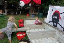 Pirate party ideas / Pirate party games, goody bags, pirate party favours