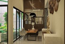 House Project 2015 at Jakarta ( Entrance & Kitchen)