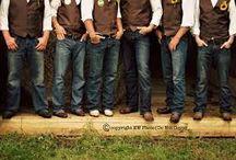Cowboy wedding for men