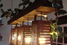 lámparas cocina