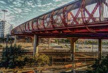 El Puente Rojo de Alicante