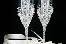 Poháre (wedding glasses)