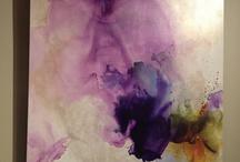acrílico abstracto