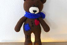 crochet toys alebo háčkované hračky