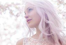 Feher & rozsaszin haj