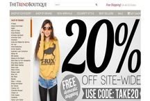 E-Store of the day / by The Hunter Auntie