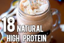 High protein smoothies
