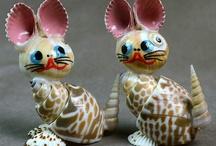 Shells craft /  trabalhos com conchas do mar