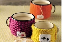 cup  cozy  knitting