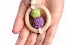 crochet teething