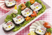 sushi rolls for kids / by Laurie Rebhann