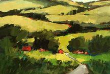 Karen White / Oil paintings by Karen White