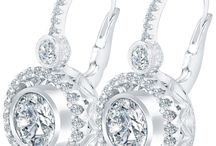 DIAMOND EARRINGS / Gorgeous diamond earrings that make that special one sparkle!  / by Liori Diamonds