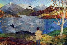 quilts - landscape