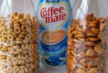 Coffee Creamer Bottles recycled