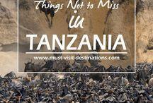 Tanzania - Top 10 Travel Lists