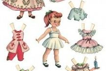 Paper Dolls / by Heather D
