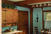 Mid Century Modest 1960s Kitchens and their Decor. / by John Taylor