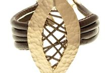 Rock bijoux with leather / Rock bijoux with leather