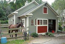 Horse barns/shelters