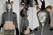Lion King costumes and sets