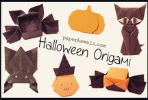 Halloween Origami Tutorials / Give someone a fright with some of these cool Halloween Origami models!