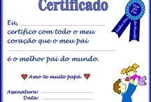 certificado dia dos pais