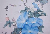 Fleurs a peindre