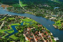 * Fredrikstad - my home town * / Fredrikstad, Norway.  Town located south of Oslo.