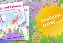 Licorish and Friends / My first published book! The first in the series telling of adventures in the beautiful coral world of Licorish and friends.