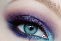 Make-up inspiration violet