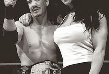 Chyna with Eddie Guerrero