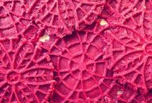 Pizzelles, Rosettes and Lotus Flower Cookies / Cookies made with Specialty Irons or Molds / by Lula