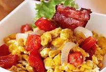 Блюда с яйцами