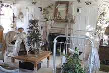 Shabby Chic Cottage Christmas