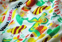 Kinder - Stoffe / Inspiration für fröhliche Kinderstoffe zum Nähen