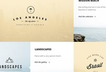 Web design / Sites, fonts and more