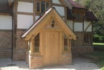 Cottage style Oak framed house