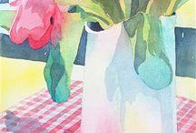 ideer akvarell