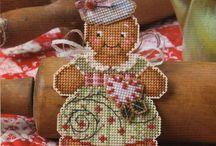 Cross stitch christmas/winter