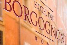Hotel Rooms / Hotel dei Borgognoni Rome - our rooms