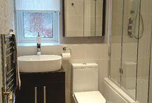 Modern bathroom deco